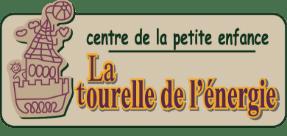 Logo Centre de la petite enfance - La tourelle de l'énergie